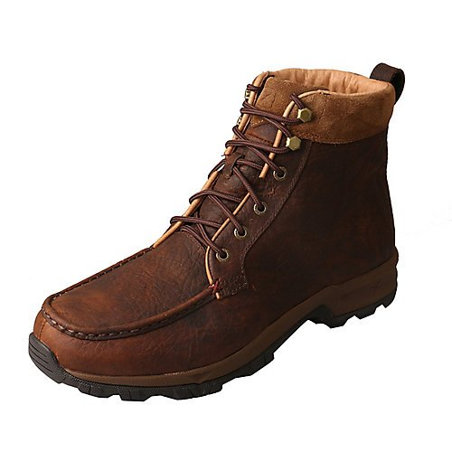 Twisted X Men's Insulated Casual Hiker Boot Composite Toe Dark Brown 8 D by Twisted X