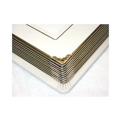 New Professional 8x10 Ivory Slip In Weddingparent Photo Album Holds