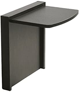 Tuc Away Tables MTC 2136 BLK Folding End Table, Black