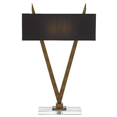 Currey & Company Lighting Willemstad Brass Table Lamp
