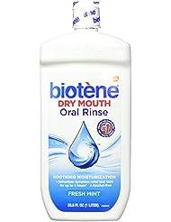 Biotene Fresh Mint Moisturizing Oral Rinse Mouthwash...