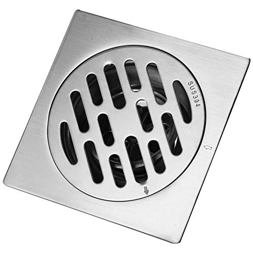 Drains Flight Tracker Copper Floor Drain Square Black Floor Drain Bathroom Traffic Flow Anti-insect Anti-water Deodorant Floor Drain Traveling Bathroom Fixtures