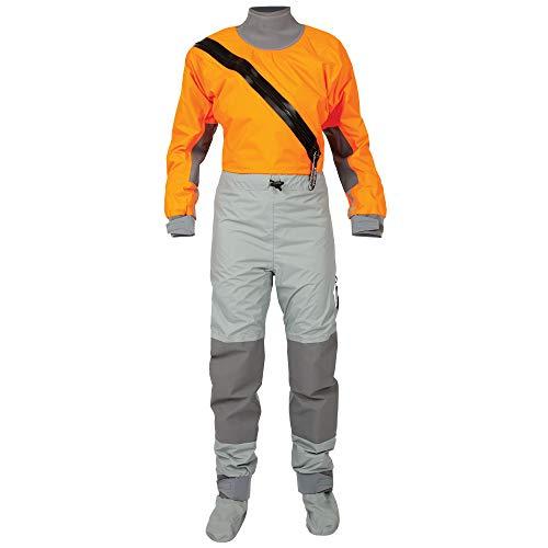 (Kokatat Women's Hydrus Supernova Semi-Dry Paddling Suit-Orange-L )