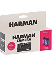 Harman/Ilford Reusable Film Camera with 2 Rolls of Kentmere Film