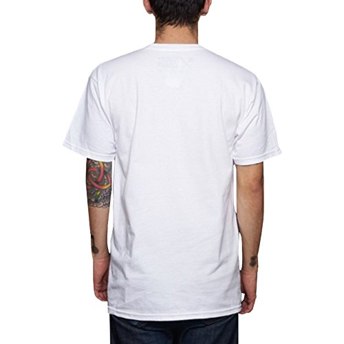 Us Versus Them Mens Do It To Yourself Short-Sleeve Shirt X-Large White