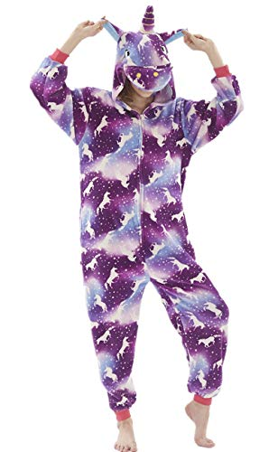 Foresightrade Adults and Children Animal Cosplay Costume Pajamas Onesies Sleepwear (XL fit for Height 175-185CM (68.8