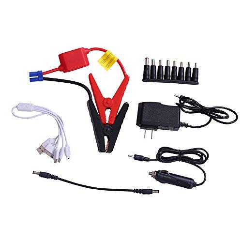 otmake 500A Peak 16800mAh 12-Volt Portable Car Jump starter Booster Battery Charger Power Pack Vehicle by otmake (Image #4)
