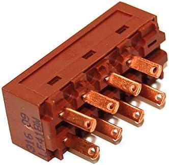 Whirlpool 481927618053 - Accesorio para campana extractora de humos (interruptor de motor de repuesto original para campana extractora): Amazon.es: Grandes electrodomésticos