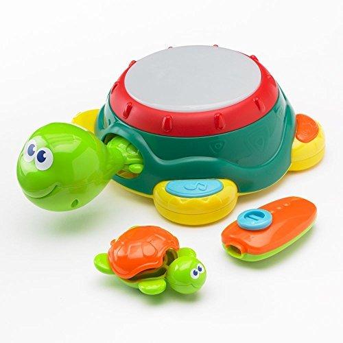 Jumping Beans Turtle Tunes Toddler Musical Set Kazoo Castanets Tambourine Drum Maraca