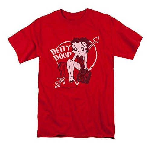 Betty Boop Men's Lover Girl T-shirt Red