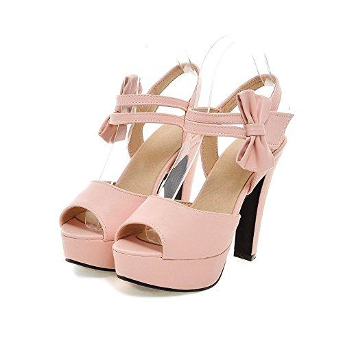 peep Alto oras verano se zapatos sandalias sandalias BAJIAN zapatos toe bajos LI Chanclas heelsWomen 54wXXq