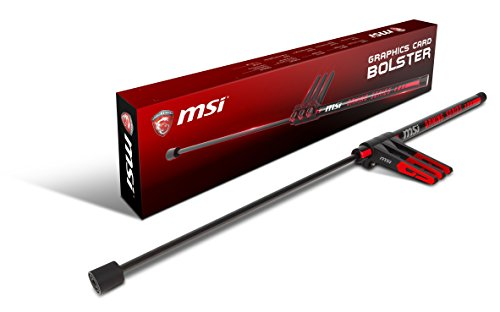 MSI GAMING nVIDIA GeForce GTX AMD Radeon Graphics Card Bolster (MSI Bolster) by MSI