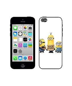 Clear Cartoon Series Phone Fundas/Case - Iphone 5c Phone Fundas/Case for Women Hardshell Cover for Iphone 5c Fundas/Case Cartoon Design
