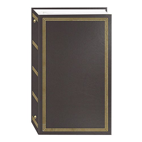 3-Ring Photo Album 300 Pockets Hold 4x6 Photos, Gray