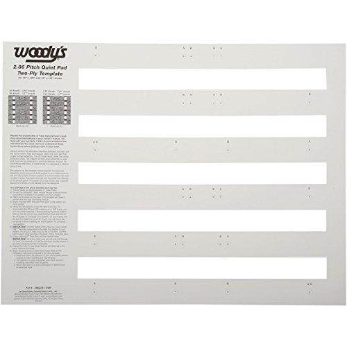 - Woodys 286QUIET-TEMP Studding Templates