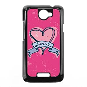 HTC One X Cell Phone Case Black Love Tattoo 2 P6E8WI
