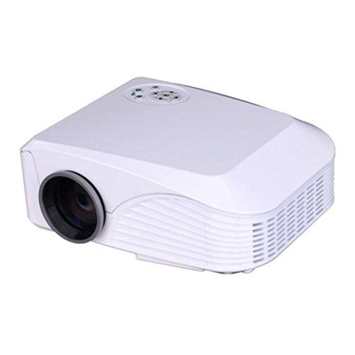 Home Cinema Theater Multimedia Led Lcd Projector Hd 1080p: Wensltd 1080P PC TV VGA USB HDMI Home Cinema Theater