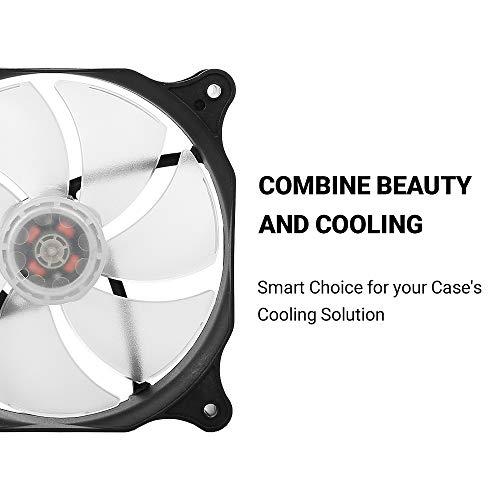 Antec PC Fan, Long Life Computer Case Fan, 120mm Cooling Case Fan for Computer Cases, Cooling LED Red