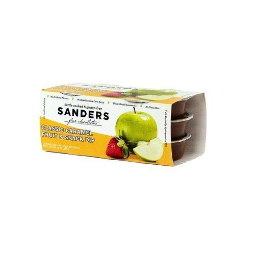 (New Product - Sanders Classic Caramel Fruit & Snack Dip (Various Sizes) (6 Pack of 2 oz Cup) )