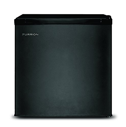 Furrion FCR17ACA-BL 1.7 Cubic Feet Compact Mini RV Refrigerator – Matte Black