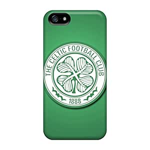Fashion Tpu Case For Iphone 5/5s- Celtic Fc Glasgow Defender Case Cover