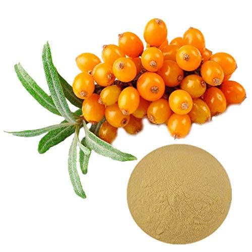 Osenai Sea Buckthorn Fruit Extract Powder Skin health Rich in beta-carotene, vitamin C and E Sugar Free Non-GMO (100g)