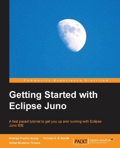 Getting Started with Eclipse Juno by Rafael Medeiros Teixeira , Rodrigo Fraxino Araujo , Vinicius H.S. Durelli, Publisher : Packt Publishing