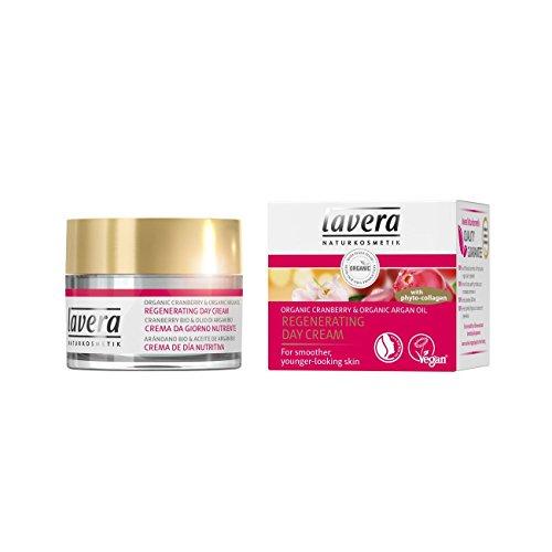 Lavera Lavera organic cranberry and argan oil regenerating day cream, 1.6oz, 1.6 Ounce