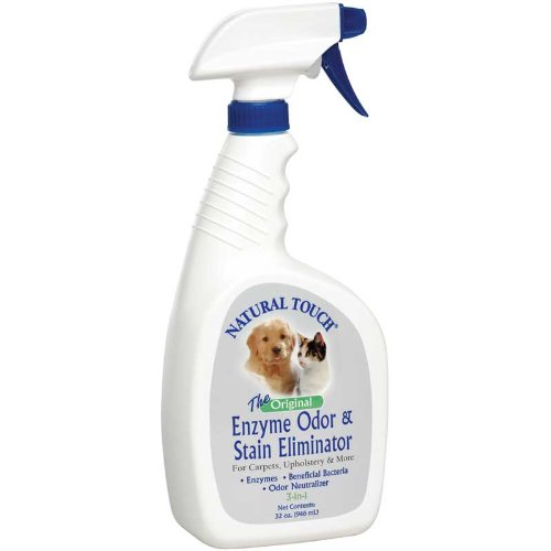 Natural Touch Enzyme Odor & Stain Remover 32 oz.
