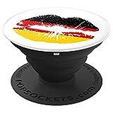 Patriotic German Flag Lips %2D PopSocket