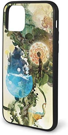 アニマルジャングルiPhone 11 Pro Maxケース、アンチスクラッチノンスリップショックプルーフTPUソフトケースiPhone 11 Pro Max 6.5インチ