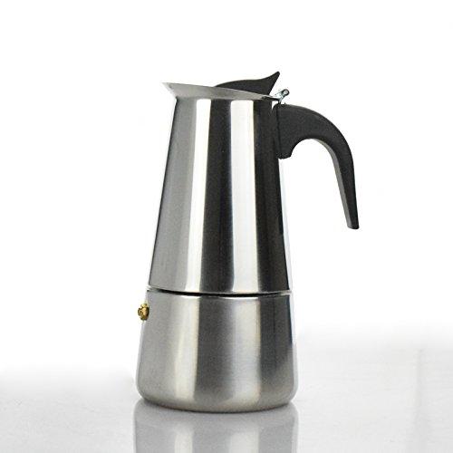 ShoppyStar Espresso Coffee Pots cafeteiras inox 2/4/6/9 cups percolator stove top stainless steel Moka Coffee Maker in stock:...