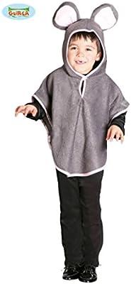 Disfraz de ratón (talla 3-4 años): Amazon.es: Juguetes y juegos