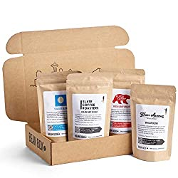 Image of the product Bean Box Gourmet Coffee Sampler, Variety of Roasts that is listed on the catalogue brand of Bean Box. This item has been rated with a 5.0 scores over 5