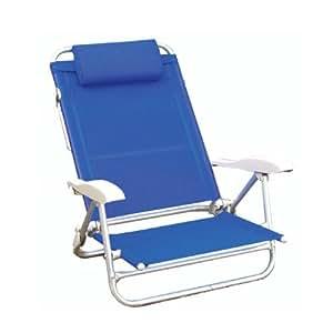 Papillon bahama silla para playa de aluminio color for Sillas jardin amazon