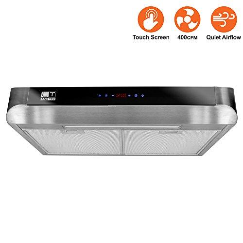 Bv stainless steel 30 inch under cabinet kitchen range for Cabinet refacing price range