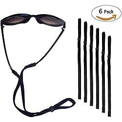 Fixget Petrel S66 Eyewear Retainer Sports Sunglass Holder Straps, Eyewear Retention System, Set of 6