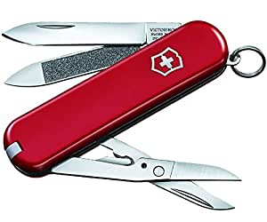 Victorinox Swiss Army Knife Executive 81, Small, Red
