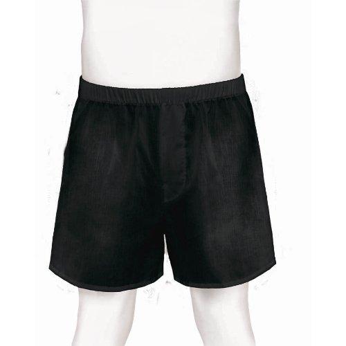 Girls Boxer Costumes (Men's Boxer Shorts Sports Costume Party, Black, 8