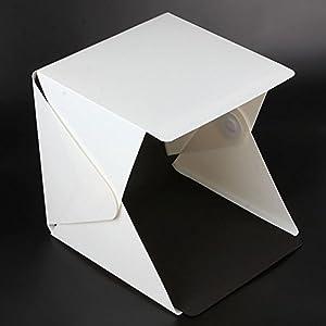 Alinshi Mini Folding Softbox, Studio Shooting Tent White