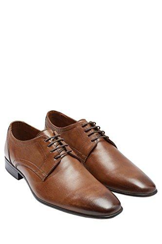 next Hombre Zapatos de vestir cordones Corte Regular Bronceado