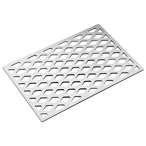 Stanbroil Cast Stainless Steel Diamond Pattern Cooking Grill Grate Fits Weber Sprit 300 Series - Pattern Grill