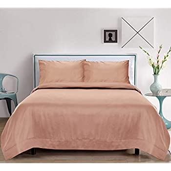 LINENWALAS Bamboo Cooling Pillow Case   Christmas Deal   100% Organic Softest Moisture Wicking Cool Pillowcases   Silk Like Soft, Cooling Luxury Set of 2 Pillow Cover (King, Rose Gold)