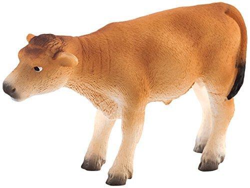 - Mojo Fun 387147 Jersey Calf Standing - Realistic Farm Animal Toy Cow Replica - New for 2013! by Mojo Fun