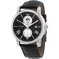 Montblanc 4810 Dual Time Automatic Black Dial Men's Watch