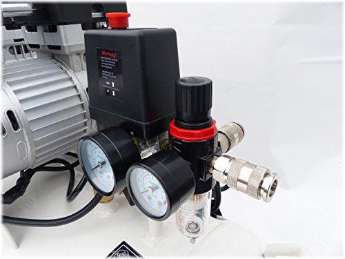 Compresor de aire KnappWulf KW2100 Con caldera de 100 litros y 3 motores de 750 vatios: Amazon.es: Bricolaje y herramientas