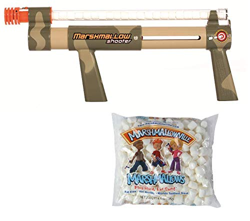 Camo Shooter with 1 Bag of Marshmallows -