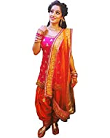 New Latest for Women Punjabi Patialas Style For Party / Wedding / Festival Wear Embroidery Salwar Suit