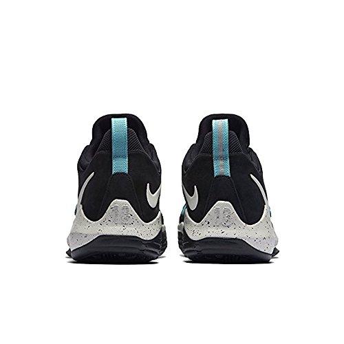 Nike Men's PG 1 Black/Aqua Basketball Shoes (9) kwULeuw