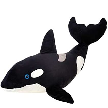 Amazon Com Fiesta Toys Sea Animal Plush 9 Orca Whale Toys Games